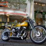 1971 Harley-Davidson Shovelhead Banana Gold