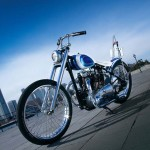 1950 Triumph Speed Twin California Blue