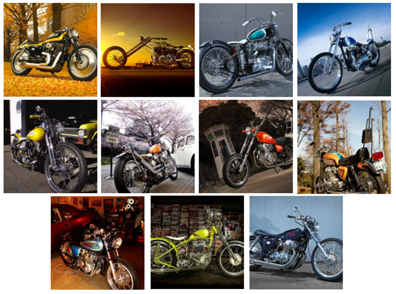 Mooneyes Custom Cycle Shop: Motorcycle Parts and Accessories